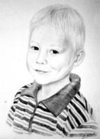 Menschenportrait Sabine Witzdam, Auftragsmalerei Atelier, Porträt Sonnenstein