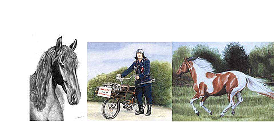 Bilder nach Foto, Atelier Sabine Witzdam, Gemäldemaler Vorlage